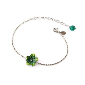 bracciale-con-fiore-verde-