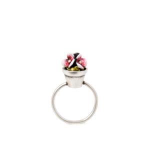 anello-vasetto-fiori-rosa-