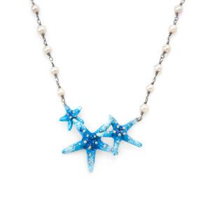 collana-perle-con-tre-stelle-marine-azzurre