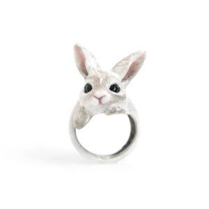 anello-coniglio-bianco