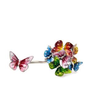 anello-due-dita-bouquet-farfalle-multicolori-2