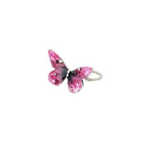 anello-farfalla-bordeaux